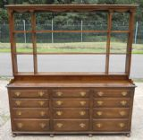 Quality Heavy Oak Dresser